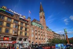 哥本哈根,丹麦- 2016年8月15日:Scandic华园大饭店是a 库存照片