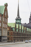 哥本哈根,丹麦- 9月8 :旧库存交换大厦 免版税图库摄影