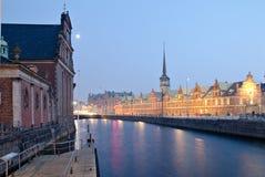 哥本哈根,老联交所 库存图片
