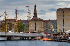 哥本哈根 大教堂基督救主 图库摄影