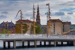 哥本哈根 大教堂基督救主 免版税图库摄影
