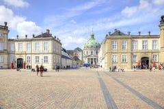 哥本哈根 大理石教会 免版税库存图片