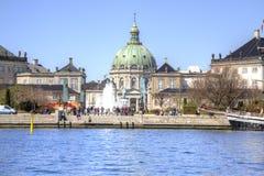 哥本哈根 大理石教会 库存图片