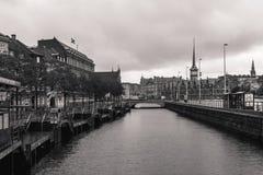 哥本哈根- 2016年10月22日:对Borsen (Borsen)大厦的看法 免版税库存图片