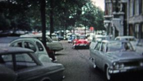 哥本哈根- 1966年:城市活与人和现代20世纪60年代看 影视素材