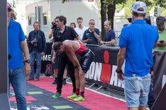 哥本哈根Ironman 2016年,丹麦 图库摄影