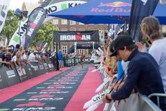 哥本哈根Ironman 2016年,丹麦 库存图片