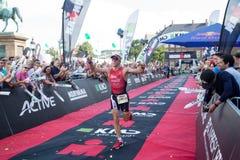 哥本哈根Ironman 2016年,丹麦 免版税图库摄影