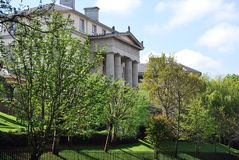 哥林斯人别墅,摄政公园,伦敦 免版税库存图片