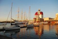 哥特人港口瑞典 免版税库存照片