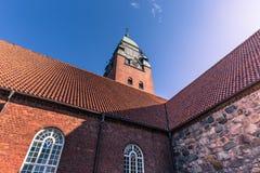 哥特人,瑞典- 2017年4月14日:Masthugg教会在Gothenbu 免版税库存图片