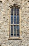 哥特式中世纪被称呼的视窗 库存照片