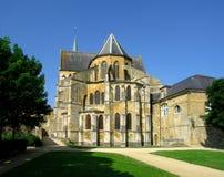 哥特式修道院 库存照片
