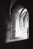 哥特式修道院 图库摄影