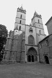 哥特式修道院 免版税库存照片