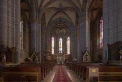 哥特式修道院 免版税图库摄影