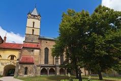 哥特式修道院 免版税库存图片