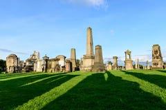哥特式公墓,格拉斯哥 库存图片