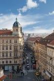 哥特式历史建筑在布拉格 库存照片