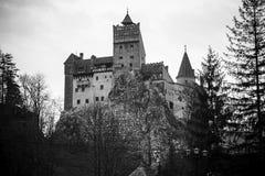 哥特式城堡德雷库拉 库存照片