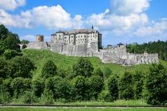 哥特式城堡Cesky Sternberk,捷克共和国 库存图片