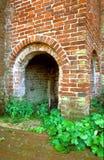 哥特式墙壁 库存照片