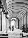 哥特式处所,巴塞罗那 免版税库存图片