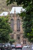 哥特式大厦在第比利斯 免版税图库摄影