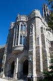 哥特式大厦的校园 免版税库存照片