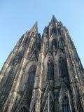 哥特式大教堂的科隆香水 库存图片