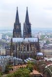 哥特式大教堂的科隆香水 免版税库存图片