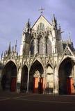 哥特式大教堂 库存图片