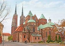 哥特式大教堂 库存照片
