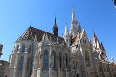 哥特式宫殿在布达佩斯 免版税库存图片