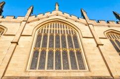 哥特式建筑所有灵魂学院牛津大学细节  免版税库存图片