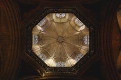 哥特式教会圆顶  库存图片