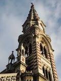 哥特式教会在波哥大,哥伦比亚。 库存照片