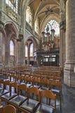 哥特式教会的器官仪器 免版税图库摄影