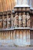 哥特式教会的要素 免版税库存照片