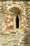 哥特式教会窗口细节 库存图片