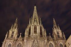 哥特式教会,巴塞罗那 免版税库存图片