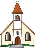 哥特式教会 库存照片