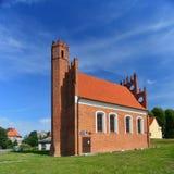 哥特式教会 库存图片