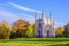 哥特式教堂 免版税图库摄影