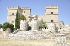 哥特式样式城堡 库存图片