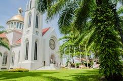 哥特式样式钟楼,假定大学,泰国 库存图片