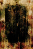 哥特式棕色的烧伤 免版税库存照片