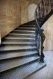 哥特式楼梯 免版税库存图片