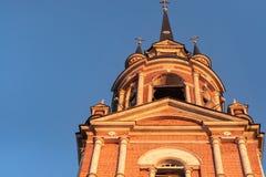 哥特式正统大教堂 免版税库存照片