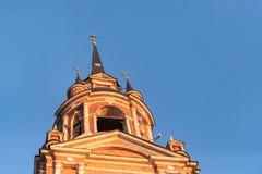 哥特式正统大教堂 免版税库存图片